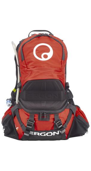 Ergon BE2 Enduro reppu 6,5 L , punainen/musta